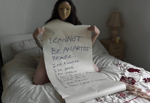 I cannot be an artist because..